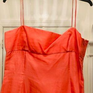 TAHARI Coral Size 14 dress!